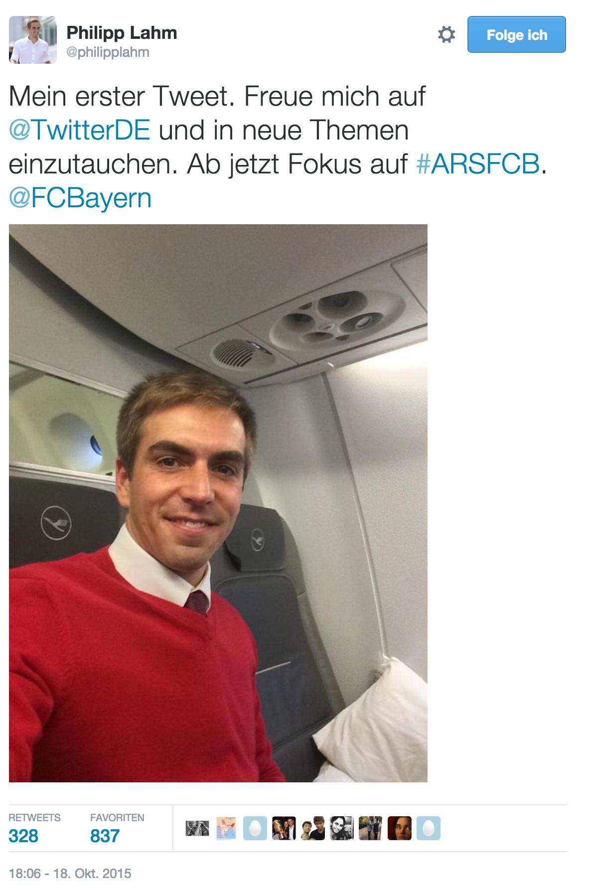 Philipp Lahm Selfie